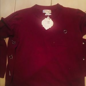 SIMPLY COUTURE KNIT TOP NWT S